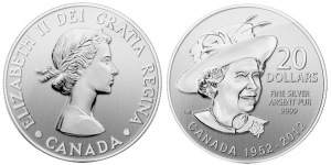 20 for 20 silver rcm coin1 - Royal Canadian Mint revels in Diamond Jubilee successes