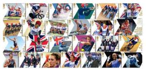 gold medal winners stamps3 - New Paralympic stamps revealed by Royal Mail