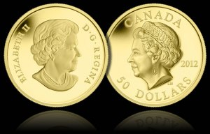 ultra high relief gold coin1 - Royal Canadian Mint revels in Diamond Jubilee successes