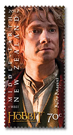 Hobbit Stamp - Bilbo Baggins