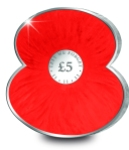 2012 rbl poppy ag rev1 - World exclusive Poppy-shaped coins to raise money for The Royal British Legion