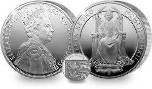 5oz diamond jubilee - A UK First for the 5oz Silver Proof Diamond Jubilee Coin