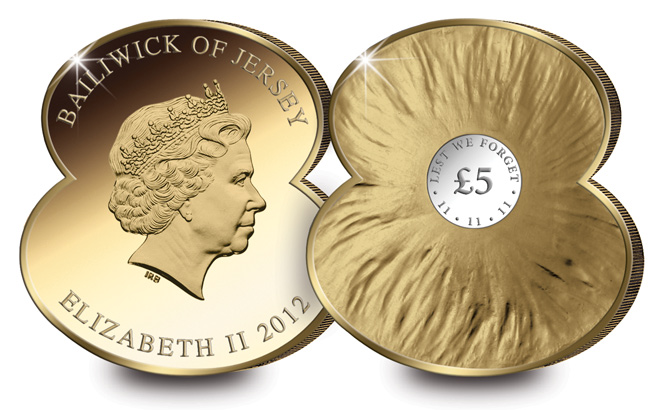 World Exclusive Poppy Shaped Coins To Raise Money For The