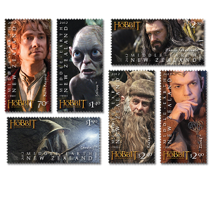 hobbit stamp set1 - Did you correctly guess the other 'Hobbit' stamps?