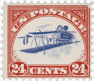 inverted jenny1 - Inverted Stamp expected to sell for £70,000 today