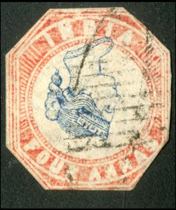 Inverted Vic stamp