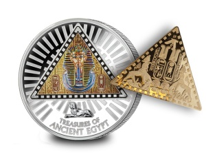 coin and triangle coin1 - Ground-breaking new coin reveals Ancient Egyptian secret