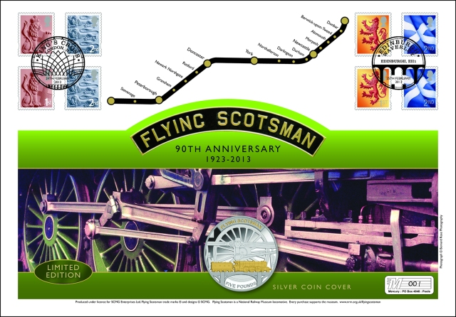 Lge Flying Scotsman £5 Ag PNC6 1JK0122P.indd