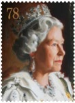 78p coro2 - New Portrait of the Queen revealed by Royal Mail