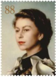 88p coro - New Portrait of the Queen revealed by Royal Mail