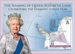 bat stamp3 - Antarctica issues new Queen Elizabeth Land Stamps - just in the nick of time!