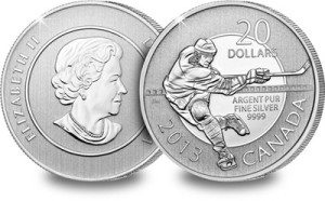 ice hockey - Another sell-out for the world's fastest-selling silver coin series
