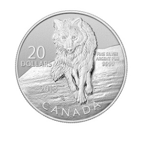 The next coin in the hugely popular series features the Wolf