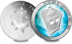 doctor who silver coins obverse reverse1 - Doctor Who coin sells for 15 times its face value!