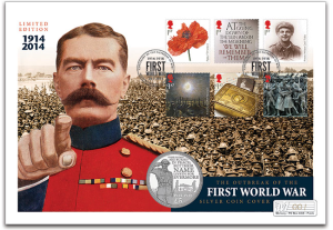 The Outbreak of The First World War Silver Proof Coin Cover