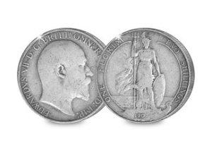 King Edward VII Silver Florin
