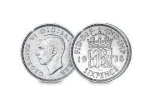 george vi silver sixpence - The 10 UK Coins that all collectors should own