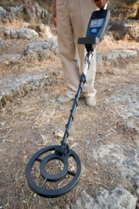 metal detector - How far would you go to guard your coin collection?