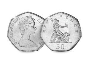 qeii 50p - The 10 UK Coins that all collectors should own