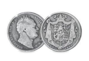 William IV Half Crown