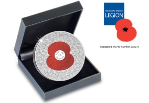 100 Poppies Coin £5 Proof Coin