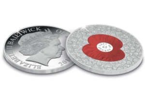 "100 poppies coin1 - The ""100 Poppies Coin"" raises over £131,000 for The Royal British Legion"