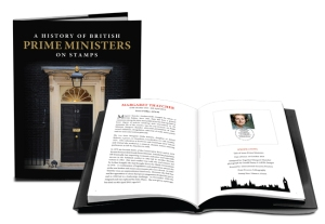 cl product images prime ministers 650 x 450px book - Royal Mail honours eight former British prime ministers on new stamps