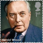 harold wilson stamp - Royal Mail honours eight former British prime ministers on new stamps