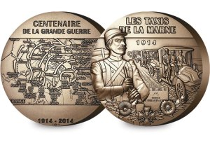 la monnaie de paris bronze medal - 1150 years of minting coins
