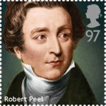 robert peel stamp - Royal Mail honours eight former British prime ministers on new stamps