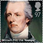 william pitt the younger stamp - Royal Mail honours eight former British prime ministers on new stamps