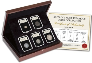 Britains Most Infamous Coins Set