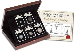 britains most infamous coins set - Top 5 - Britain's Most Infamous Coins