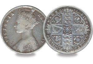 Queen Victoria Florin