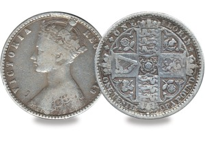 queen victoria florin - Top 5 - Britain's Most Infamous Coins