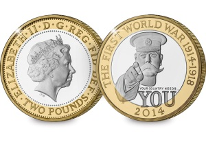 st datestamp 2014 uk proof year coin set wwi c2a32 web images - What's your coin of the year?