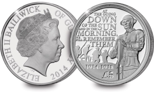 the first world war centenary silver c2a35 coin - What's your coin of the year?
