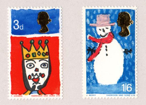 who issued the worlds first christmas stamp - Christmas Stamp