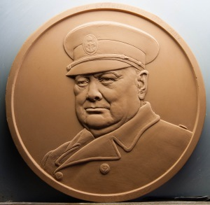 Churchill £5 Coin Plaster