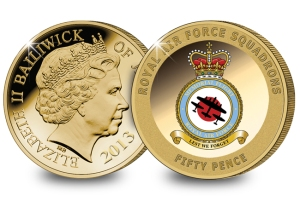 bbmf coin - Her Majesty The Queen and Prince Philip honour Battle of Britain heroes today