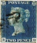 l328 - The Penny Black - the world's first and most famous stamp