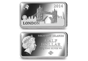 london tower bridge - My top 7 most extraordinary coins of 2014