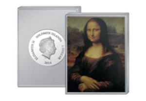 mona lisa - My top 7 most extraordinary coins of 2014