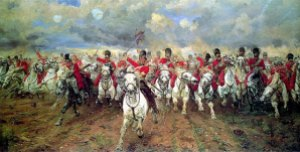 bow - Battle of Waterloo commemorative issued… by France!