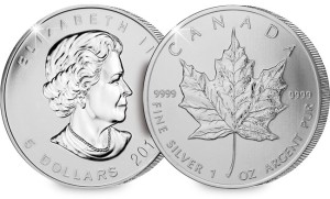The 2014 Canada Silver Maple Leaf