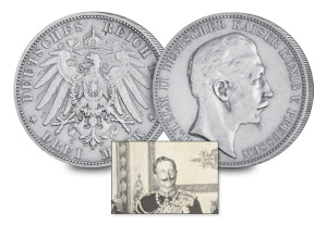 4 kaiser wilhelm ii of germany and prussia3 - Nine Kings in one room, nine great European currencies…