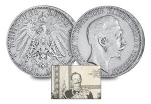 4 kaiser wilhelm ii of germany and prussia3 - Nine Kings in one room, nine great European currencies…