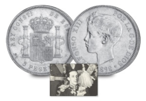 7 king alfonso xiii of spain3 - Nine Kings in one room, nine great European currencies…