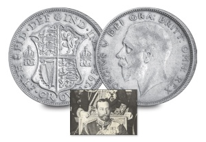 8 king george v of the united kingdom3 - Nine Kings in one room, nine great European currencies…
