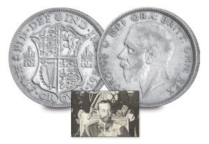 8 king george v of the united kingdom3 - Nine Kings in one room, nine great European currencies…